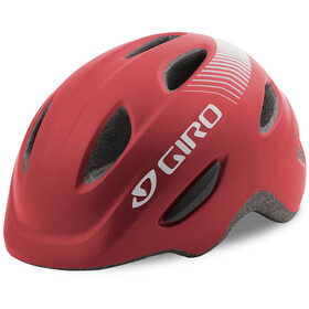 Giro Scamp Helmet Barn matte dark red
